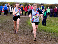Sarah Fitzpatrick/Sarah Myles (DSD) 45h and 5th U18 race