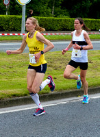 Maria McCambridge, Barbara Cleary at 5km