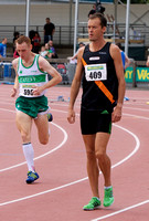 Alistair Cragg before men's 5000m