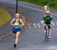 Seamus Power leads at 8km