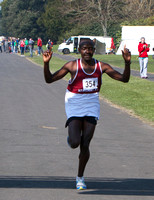 Winner Peter Brandon from Kenya (via Athenry)