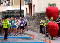 Well it is called the Strawberry Half Marathon!