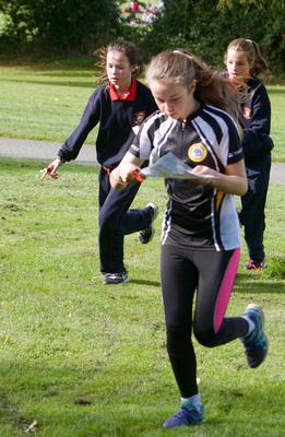 Lindie Naughton Photography: Primary Schools Orienteering Marlay &emdash;